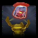 Gold Megatron Relic G1 portrait