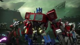 TRANSFORMERS Forged to Fight Trailer