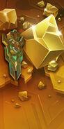 Gold Crystal banner