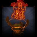 Bronze Galvatron Relic