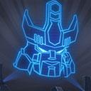 Silver Galvatron Relic Icon