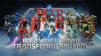 Transformers Forged To Fight Toy Fair Trailer