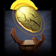 Bronze Shattered Disk