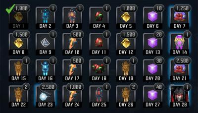 October Daily Calendar