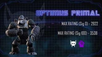Bot Showcase - Optimus Primal
