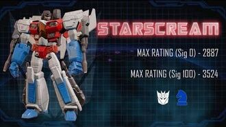 Bot Showcase - Starscream