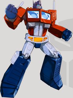 Optimus Prime TFD Robot