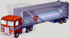 Optimus Prime TFD Vehicle