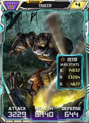 Episode Tracer robot