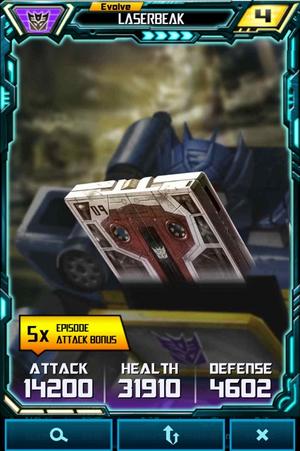 Evolve Laserbeak alt
