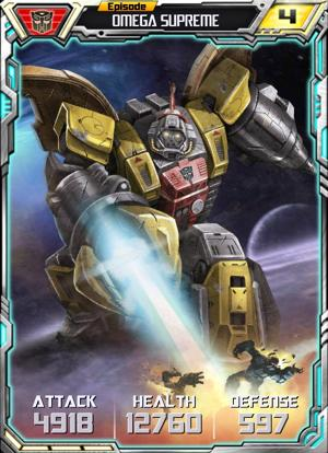 Episode Omega Supreme