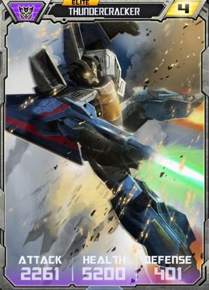 Elite Thundercracker robot
