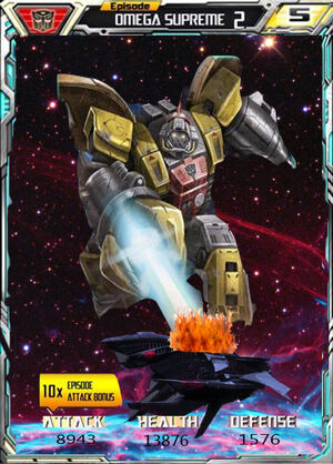 Episode Omega Supreme 2