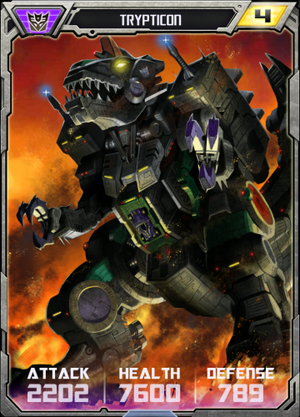 (Decepticon) Trypticon - Robot