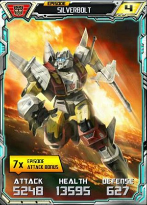 Episode Silverbolt robot