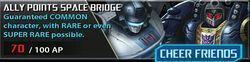Ally Points Space Bridge