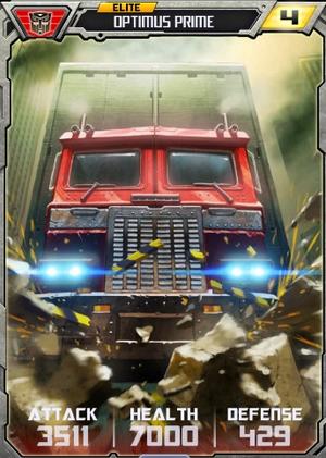 Elite Optimus Prime vehicle