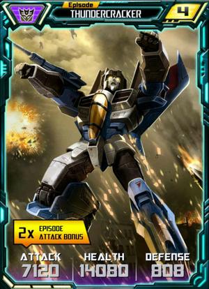 Episode Thundercracker robot