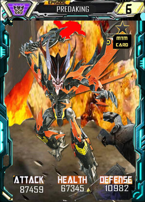 Episode Predaking robot
