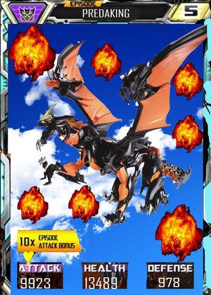 Episode Predaking (Dragon form)