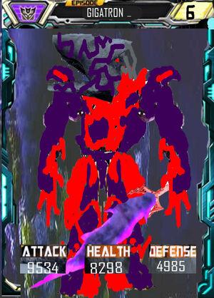 Episode Gigatron robot