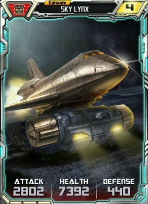 Episode Sky Lynx vehicale form