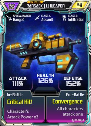Ransack 1 Weapon
