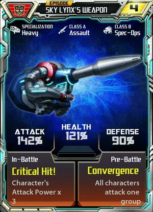 Sky weapon