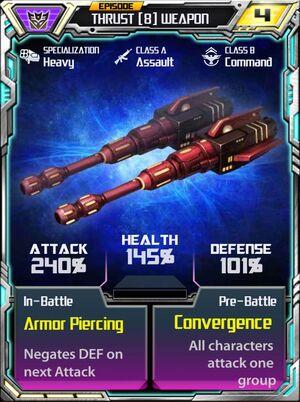 Thrust 8 Weapon