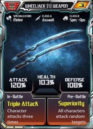 Wheeljack (1) Weapon