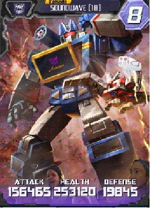 Soundwave 18 Robot