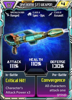 Divebomb 2 Weapon