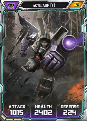 Skywarp (1) - Robot