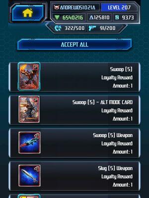 Me Grimlock King Super Loyalty Rewards 1-5