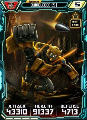 Bumblebee 5 Robot