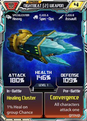 Nightbeat 2 OG Weapon
