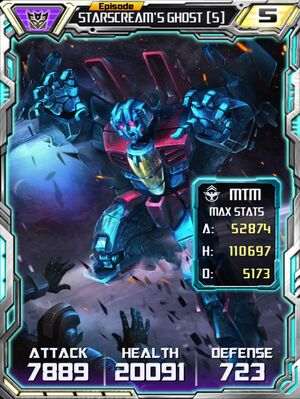 Starscream's Ghost 5 Robot
