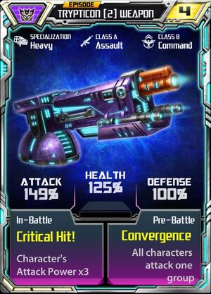 Trypticon 2 Weapon