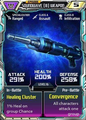 Soundwave 8 Weapon