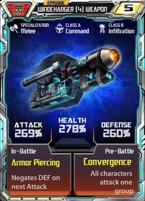 Windcharger 4 Weapon