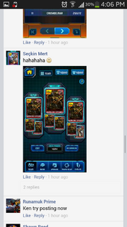 Screenshot by 11165765 - Facebook - Call of the Primitives - Ultra Rare Deck Power