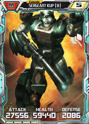 Sergeant Kup 8 Robot