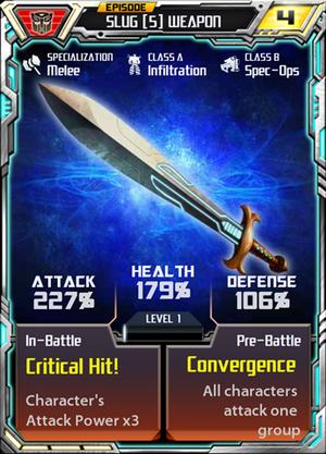 Slug 5 Weapon