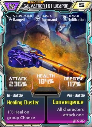 Galvatron 6 Weapon
