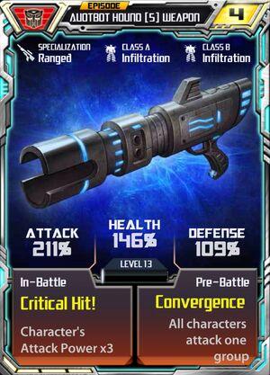 Autobot Hound 5 Weapon