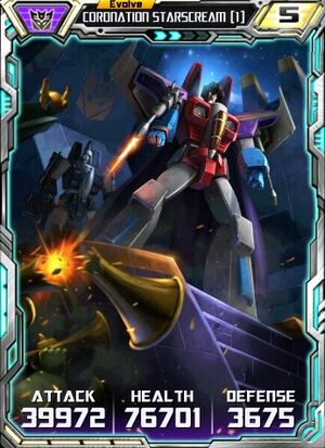 Coronation Starscream 1 E2