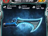 Mirage (1) Weapon
