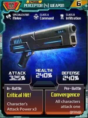 Perceptor 4 Weapon