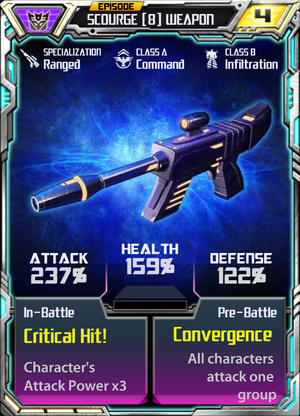 Scourge 8 Weapon