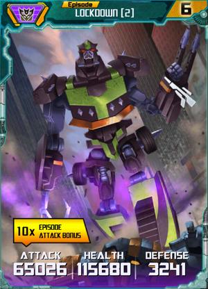 Lockdown 2 Robot
